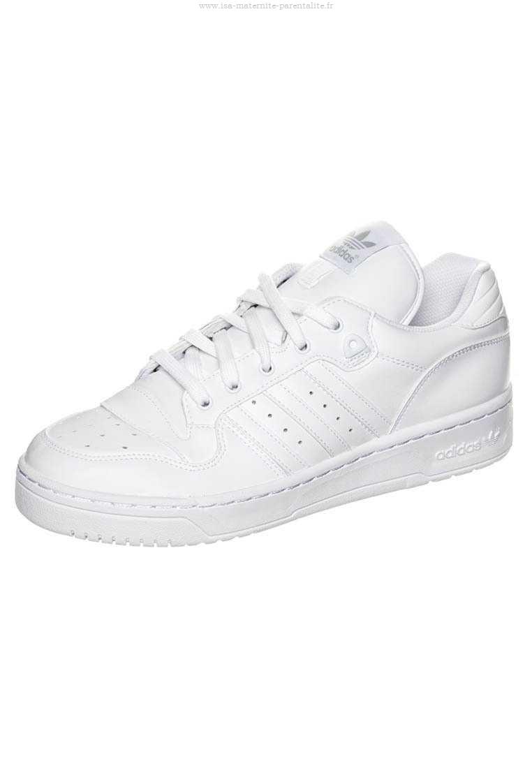 plus de photos 4f04c 062a6 100% Authentique adidas blanche femme basse Outlet en ligne