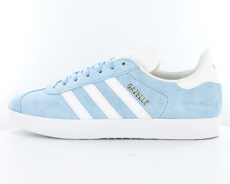 100% Authentique adidas gazelle bleu femme Outlet en ligne