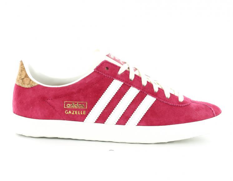 100% Authentique adidas gazelle rose femme pas cher Outlet