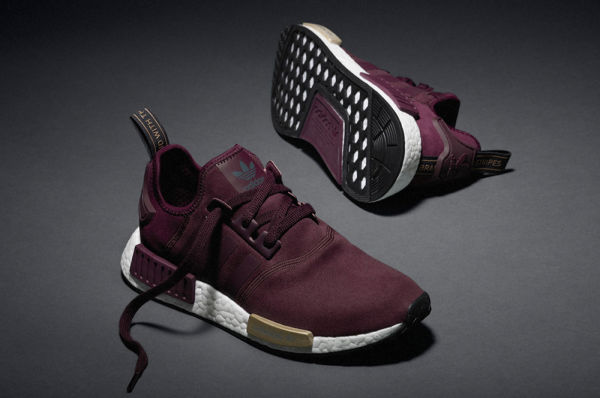 chaussure adidas nmd r1 femme bordeaux blanc Off 60% - www ...