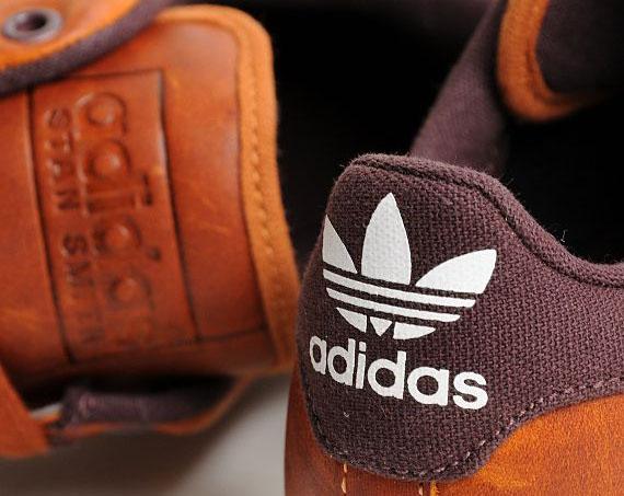100% Authentique adidas stan smith 2 marron Outlet en ligne