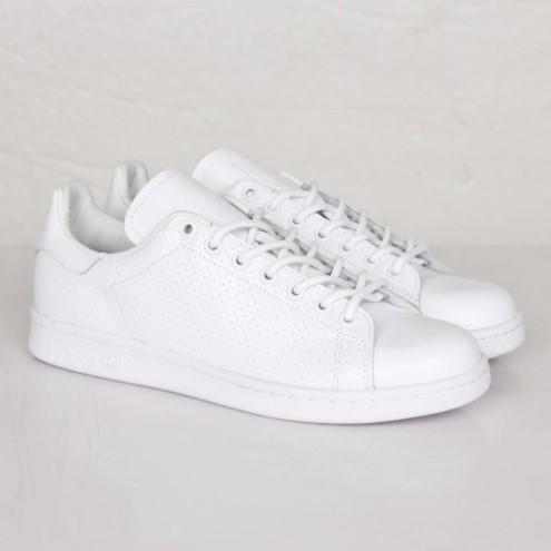 adidas toute blanche