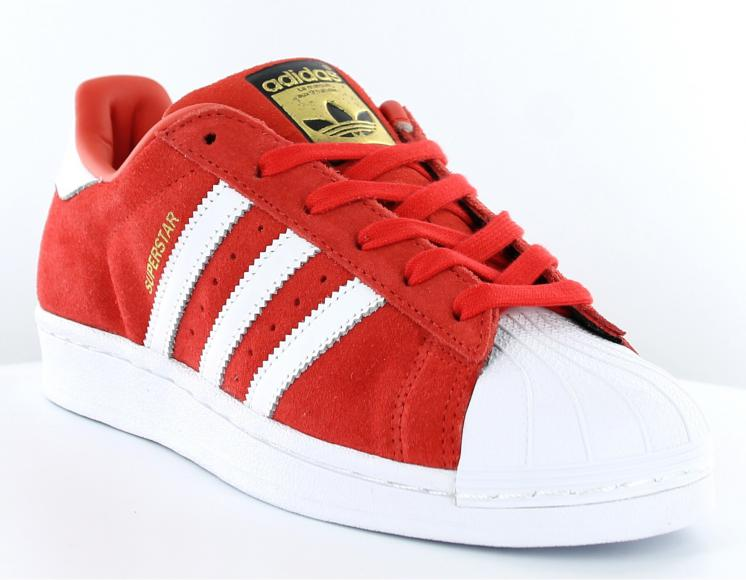 hot product low price size 40 superstar rouge daim femme Adidas original chaussures,adidas ...