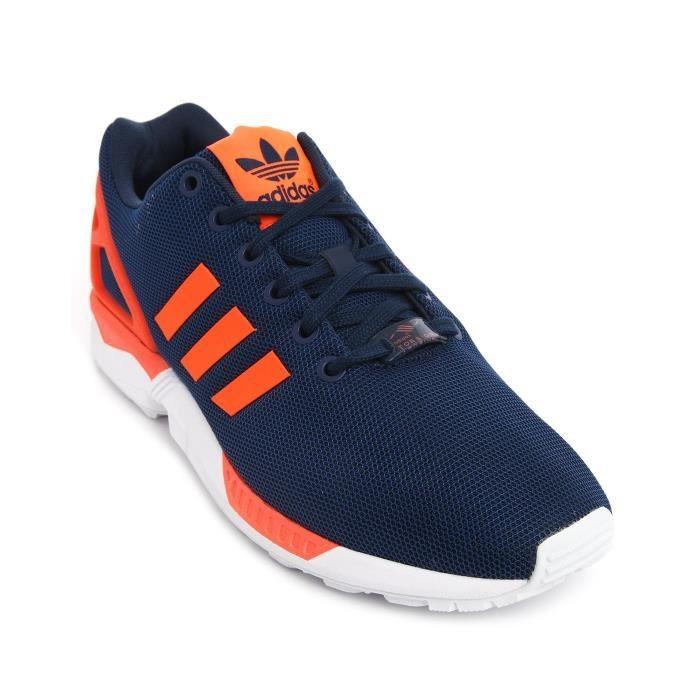 chaussures de séparation dd074 bdb69 100% Authentique adidas zx flux homme bleu Outlet en ligne