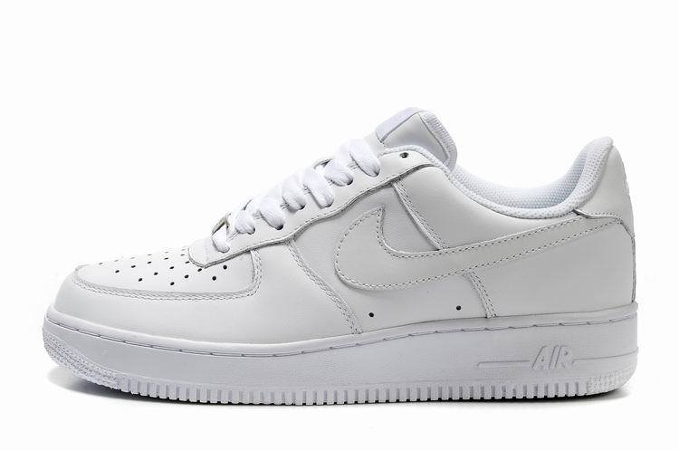 100% Authentique air force blanche basse pas cher Outlet en