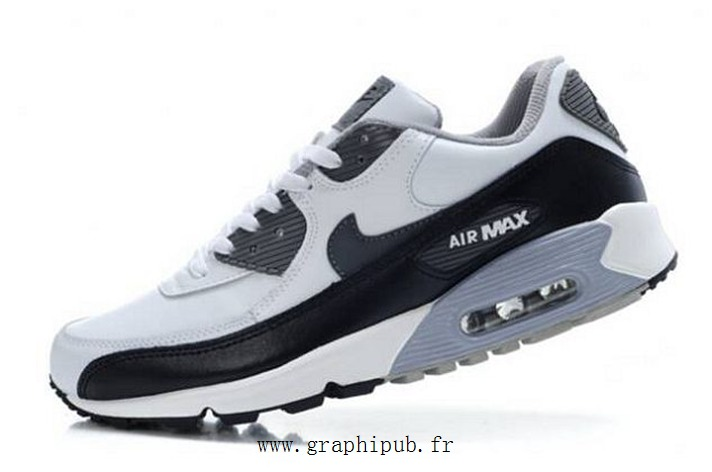 acheter populaire d61e2 daa63 100% Authentique air max 90 noir blanc gris Outlet en ligne