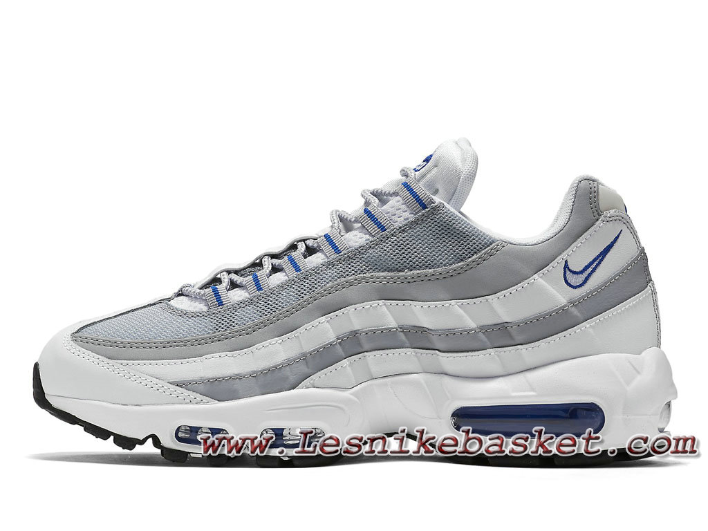 100% Authentique air max 95 essential blanche pas cher