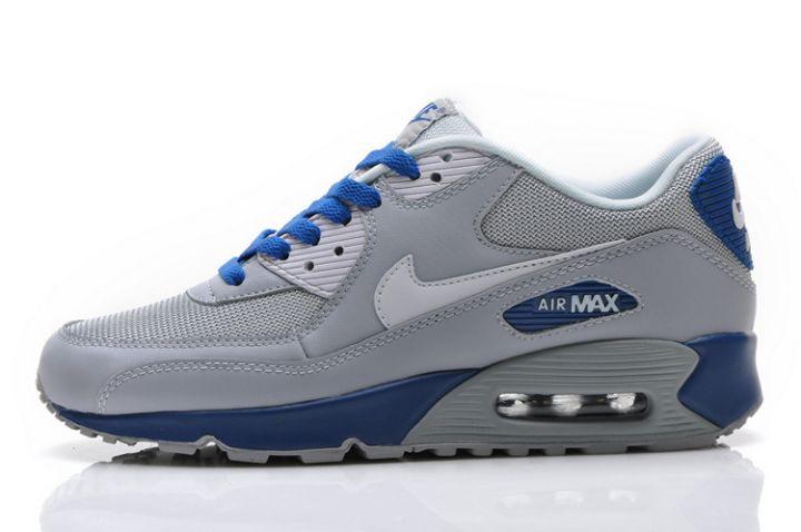 nike air max 90 gris et bleu