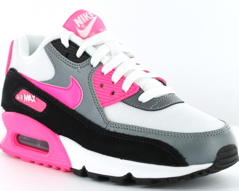 100% Authentique air max rose et grise femme Outlet en ligne