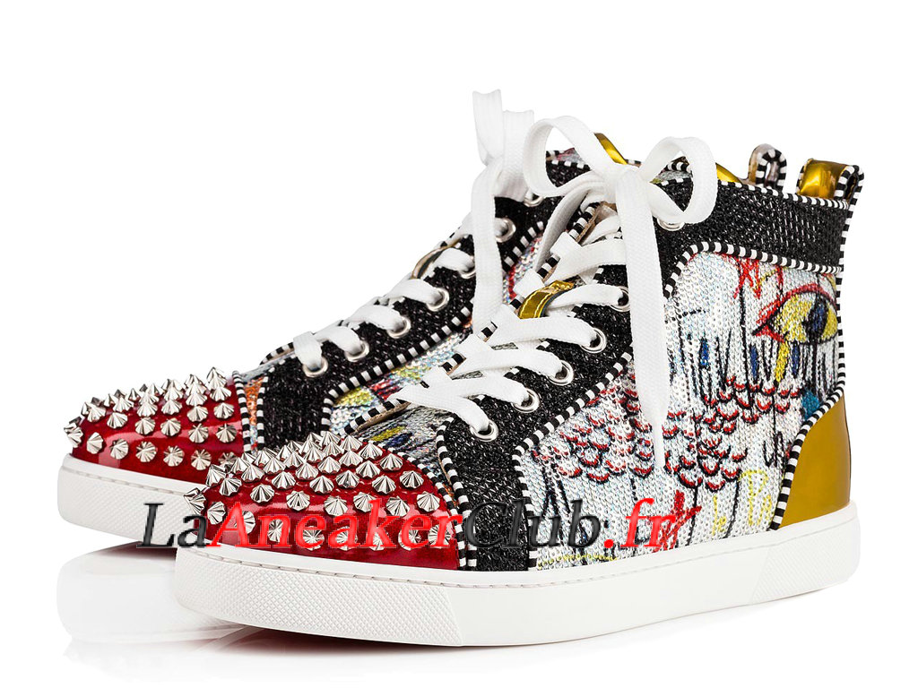 design intemporel def2e 191c1 100% Authentique basket louboutin pour femme Outlet en ligne