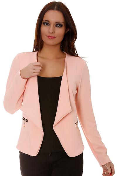 100% Authentique blazer femme rose pale Outlet en ligne