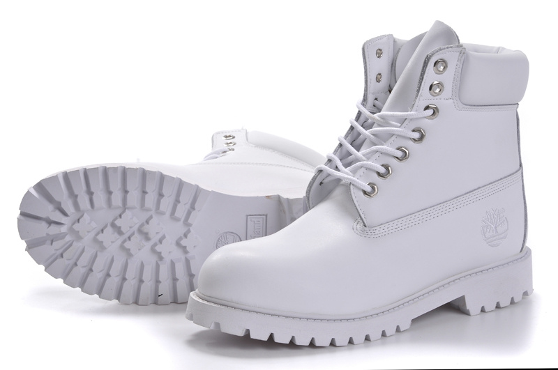 100% Authentique botte timberland femme blanche Outlet en ligne