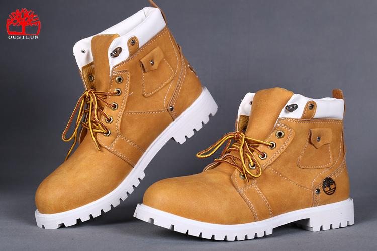 chaussure timberland bottes homme marron pas cher ou d