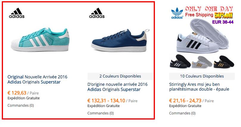 100% Authentique chaussure adidas aliexpress Outlet en ligne