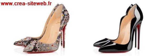 100% Authentique christian louboutin chaussures femmes pas