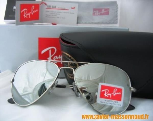 100% Authentique lunettes ray ban aviator miroir pas cher Outlet en ... c2abd6df20f0
